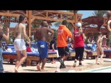 Танец после аква аэробики