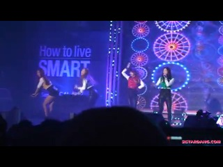 How dare You+Shady Girl+Push Push at Samsung Galaxy Player 70 LIVESETS (110325)